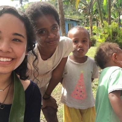 Nina R in Fiji